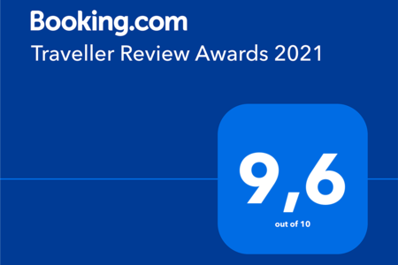 Fani&Rozi has received Booking s Traveller Review Award 2021